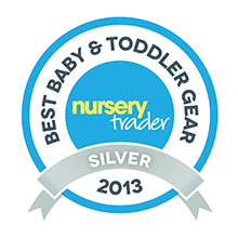 Nursery Trader awards - BuggyBoard Maxi is the original ride-on platform and is precision engineered to work better, more safely and with more pushchair brands.